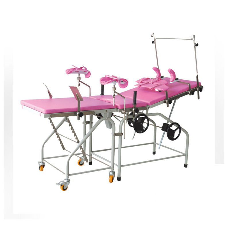 Gynecological Obstetric Table Delivery Bed